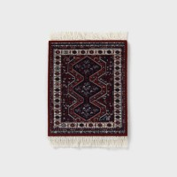 [CoasterRug] 코스터 러그 Coaster Rug 4pcs - Midnight Persian