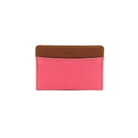 Oxford Card Case _ Rose Pink