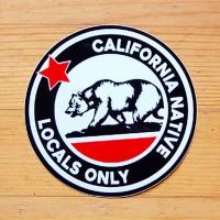 레이싱 스티커-California Native