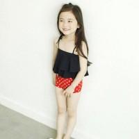 버터컵KC 탱키니수윔세트(밴드포함)-블랙
