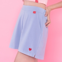 Heart point slit shorts (2colors)