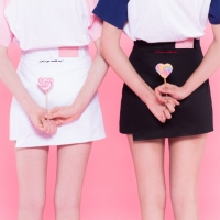 Heart unbalance skirt pants (3colors)
