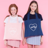 Heart eco bag (DENIM)