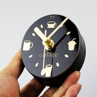 커피타임 마그넷시계