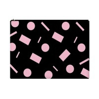 핑크도형 클러치