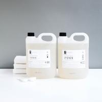 [생활공작소] 주방세제 4L - 2개 + 미니용기/깔대기