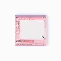 pink painter memo pad