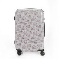 [유랑스]프로젝트:D 여행가방 플라워 에디션 기내용 20형 화이트