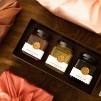 꿀.건.달[꿀이아주.건강하고.달콤하군] 벌꿀 3종 선물세트(프리미엄)