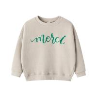 메르시 맨투맨 티셔츠 (2colors)