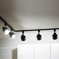 LED 유로 레일등 ㄱ자형 2M_5등 (전구선택형)-무료설치_(860319)