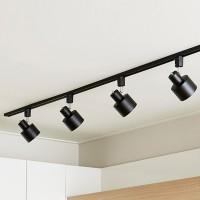 LED 유로 레일등 일자형 2M 4등 (전구선택형)-무료설치_(860321)