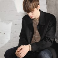 UNISEX Basic Coat-Black