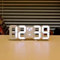 [Mooas] Mini LED Clock 무아스 미니 LED 클락 / 탁상시계 & 벽시계
