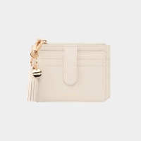 [태슬증정][살랑]Dijon 301S Flap Card Wallet cream beige