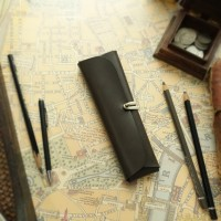 Pencil Case_Cross Folding Deluxe [Ash Gray]