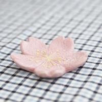 나무 레진 오너먼트 트레이-벚꽃잎 소형