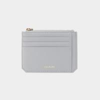 [살랑]Dijon M201 Flap mini Card Wallet light grey
