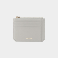 [살랑]Dijon M201 Flap mini Card Wallet light grey