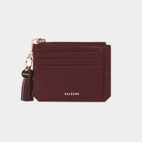 [태슬증정][살랑]Dijon M201 Flap mini Card Wallet burgundy