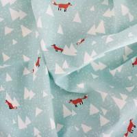 [Fabric] 스칸디나비안 숲에 붉은여우가산다