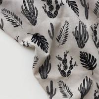 [Fabric] 모노린넨 plants (선인장)