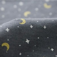 [Fabric] 별빛이 스민 고요한 밤, 패턴 린넨(별과달)
