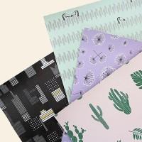 [Fabric]  네츄럴 가죽원단 4종 (선인장/투카니/블라썸/맨하탄)