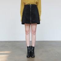 Ring zipper skirt