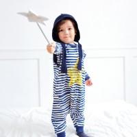 스탈라잇(블루)슬립색 유아수면조끼 아동수면조끼_(764096)