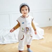 인디코끼리슬립색 유아수면조끼 아동수면조끼_(764090)