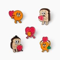 과자전 Love&Thanks  과자가족 5종 뱃지 (세트)