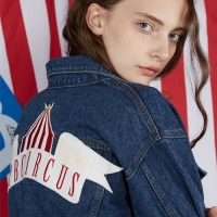 Circus Patch Denim Jacket