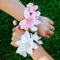 쁘띠벨 셀프웨딩 꽃팔찌