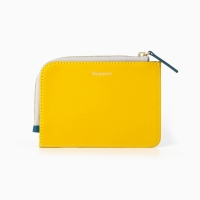 10Fennec Mini Wallet Mustard / Sea Green