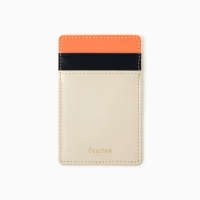 10Fennec Mini Card Wallet Coral / Ivory