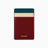 10Fennec Mini Card Wine / Sea Green