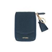 버밀란 포켓 카드 지갑 - 네이비