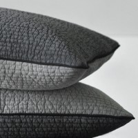 two gray pad pillow cover 30