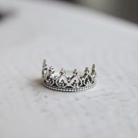 크라운 Ring (silver925)