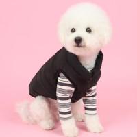 패딩조끼(black) Padding vest
