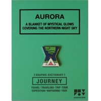 JOURNEY 핀뱃지 - AURORA