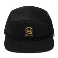 LOGO TWILL CAMP CAP - BLACK_(877484)