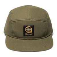 LOGO TWILL CAMP CAP - KHAKI_(877483)