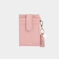[태슬증정][살랑]Dijon 201S Flap mini Card Wallet light pink