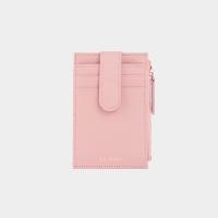 [살랑]Dijon 201S Flap mini Card Wallet light pink