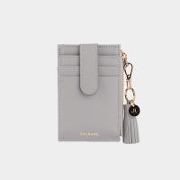 [태슬증정]살랑]Dijon 201S Flap mini Card Wallet light grey