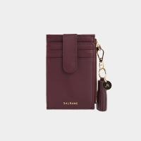 [태슬증정][살랑]Dijon 201S Flap mini Card Wallet burgundy