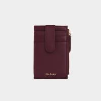 [살랑]Dijon 201S Flap mini Card Wallet burgundy