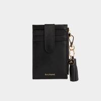 [태슬증정][살랑]Dijon 201S Flap mini Card Wallet black